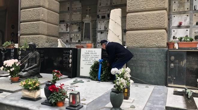 Savona, l'Anmi ricorda Vanni Folco