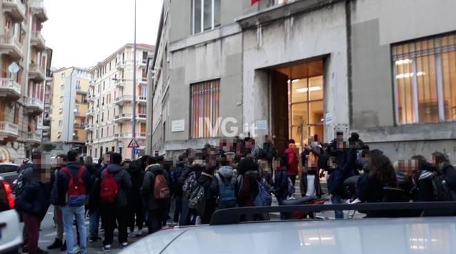 sciopero liceo scientifico
