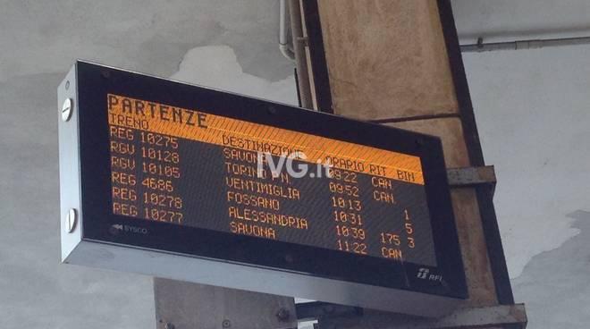 treni cancellati san giuseppe di cairo stazione