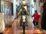 Vanni Oddera alla pediatria del San Paolo di Savona