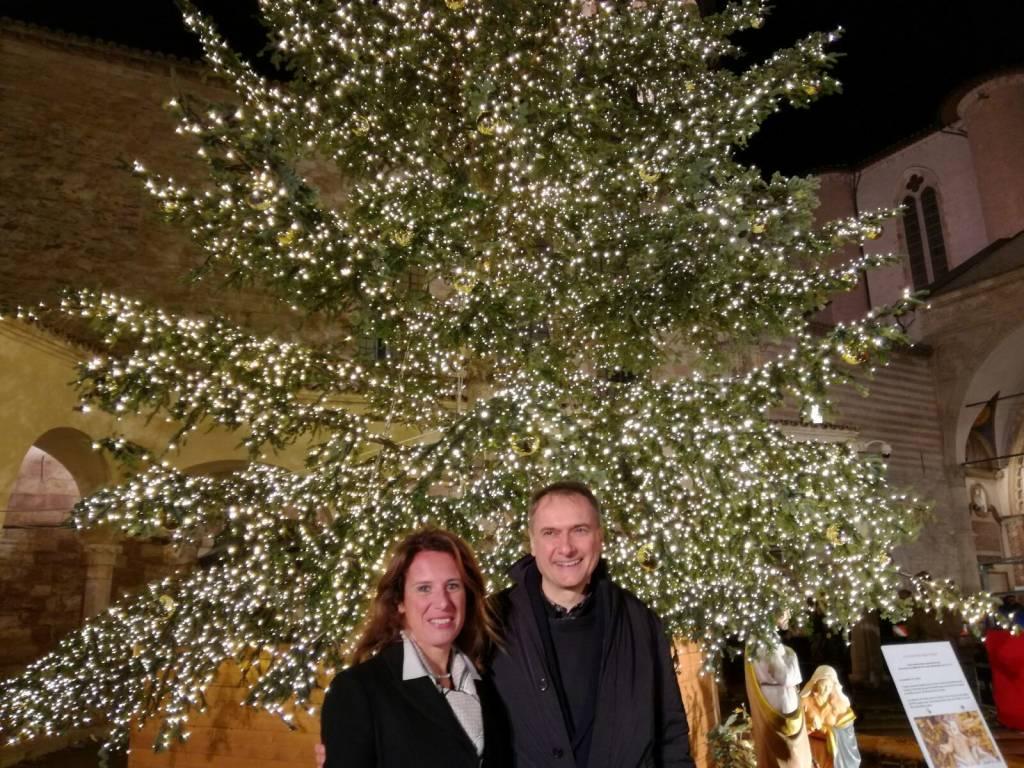 Regione Albero Natale Assisi