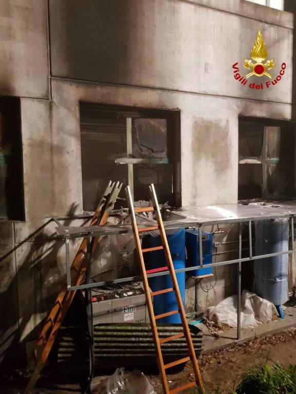 vigili del fuoco cicagna