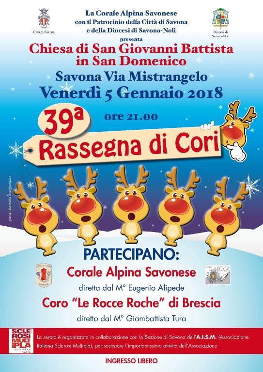 39esima Rassegna di Cori Savona