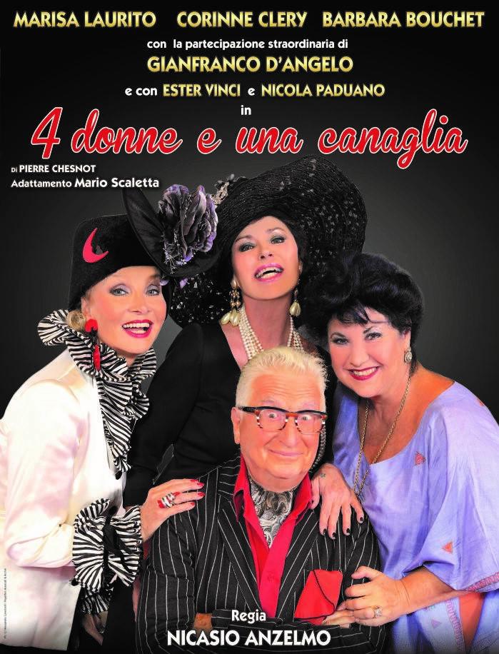 4 donne e una canaglia