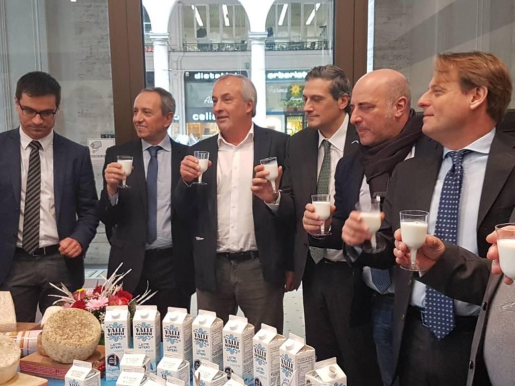 Accordo latte valli genovesi