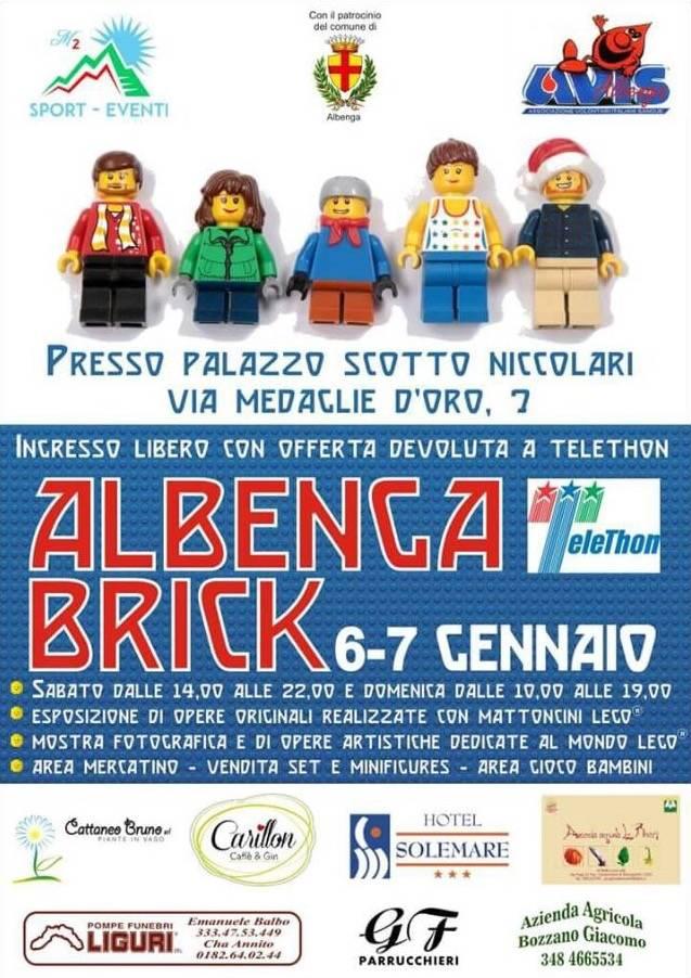 Albenga Brick Lego Telethon