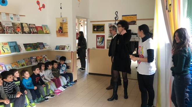 biblioteca scuola infanzia