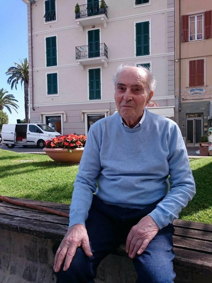 Gino Viziano, lutto a Pietra Ligure