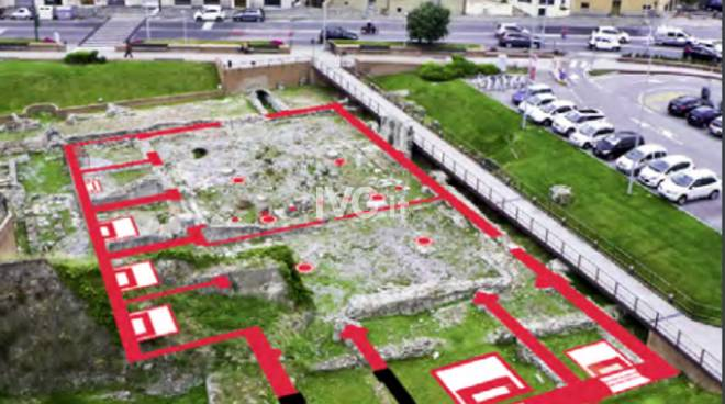 I tesori sepolti dalla fortezza del Priamar