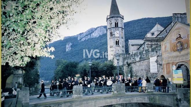 """La """"Banda"""" della Società Filarmonica alla Festa patronale di San Biagio a Finalborgo"""