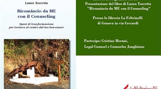 """Nuovo appuntamento per la presentazione del libro di Laura Torretta """"Ricomincio da ME con il Counseling\"""""""