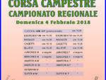 """Circuito Corsa Campestre: CSI Liguria \"""" Campionato Regionale 2018\"""""""