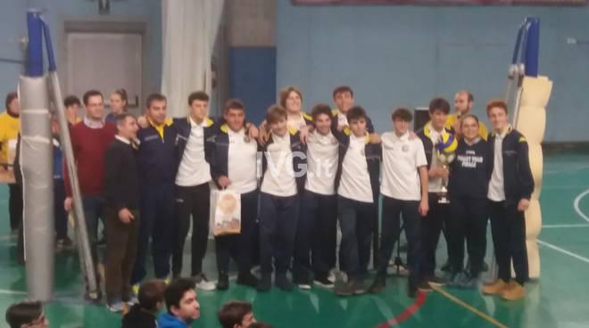 """Volley, Under 16 maschile. Befana generosa per il Volley Team Finale: incetta di premi al \""""Be Fun Volley\"""""""