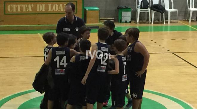 Basket: gli aquilotti finalesi battono il Loano