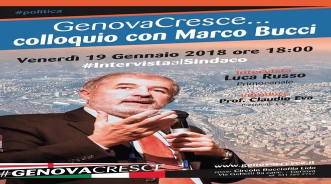 GenovaCresce... colloquio con Marco Bucci