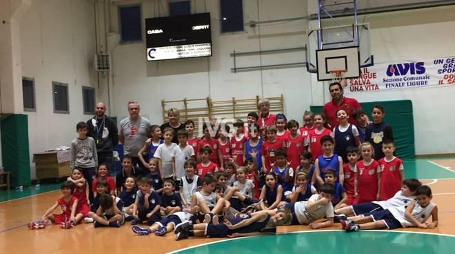 Sabato 14 gennaio concentramento per i più piccoli del Finale Basket