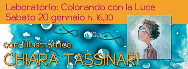 """Laboratorio con l\'illustratrice Chiara Tassinari: \""""Colorando con la luce\"""""""