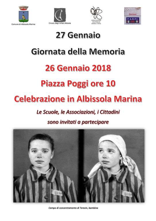 Circolo degli Artisti Giornata della Memoria 2018