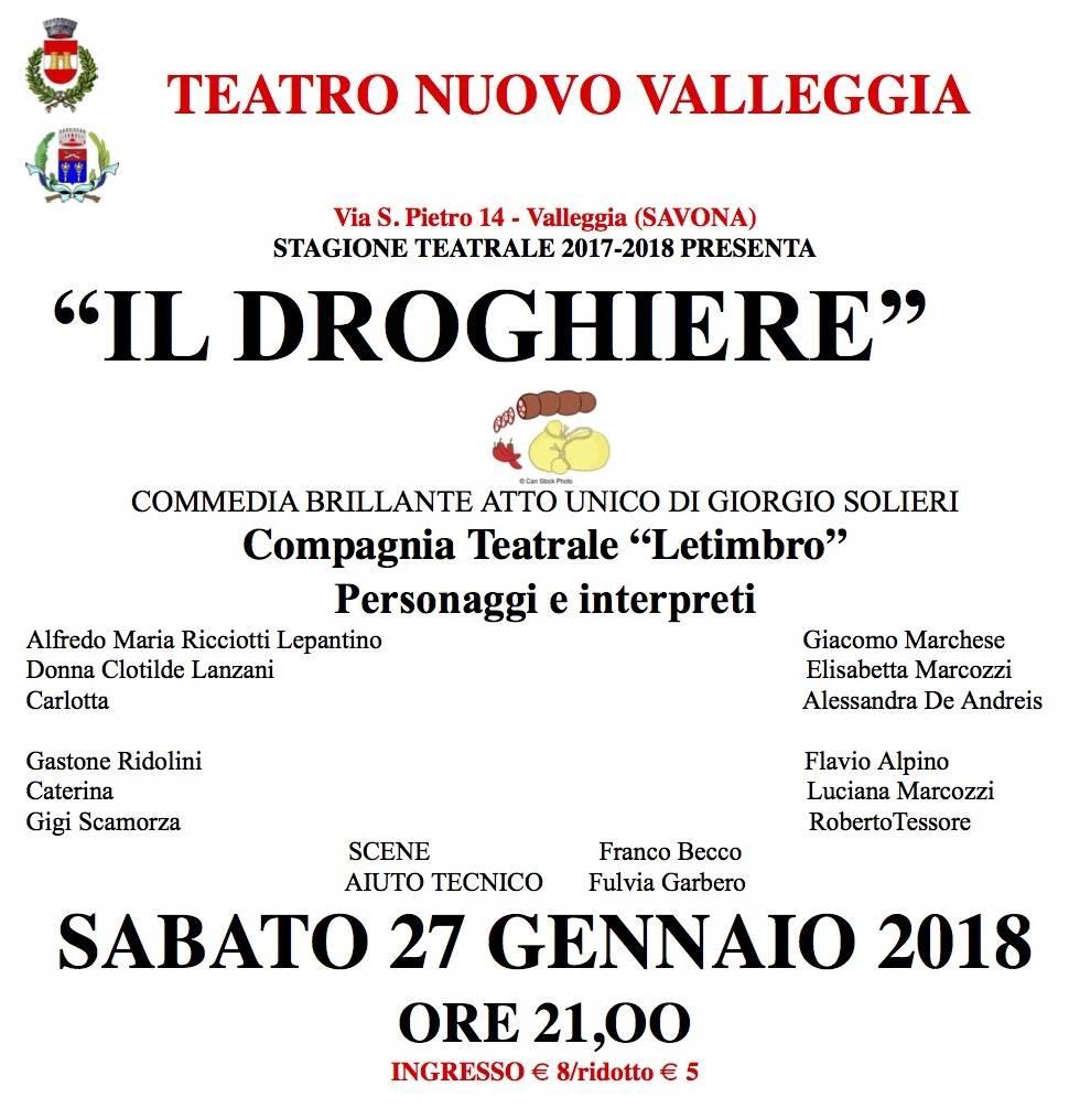 """Compagnia Teatrale Letimbro """"Il droghiere"""""""