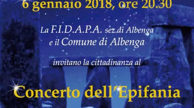 Concerto Epifania trio Celtic Dream FIDAPA Albenga