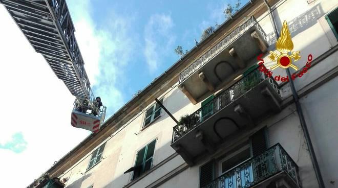 Vigili Fuoco Calcinacci via Montenotte