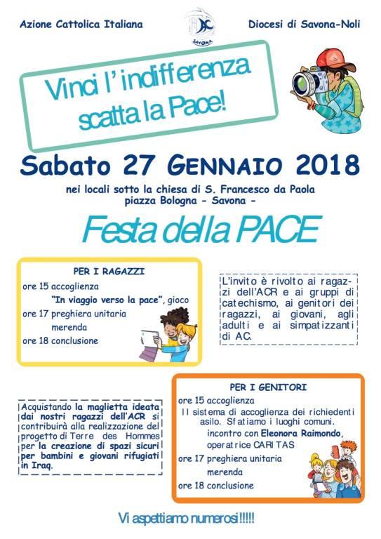 Festa della Pace Azione Cattolica Savona