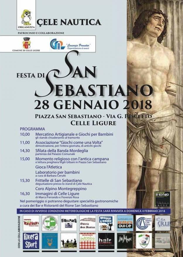 Festa di San Sebastiano Celle Ligure