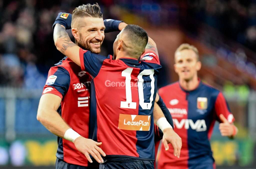 Genoa Vs Sassuolo Serie A 20°  Giornata