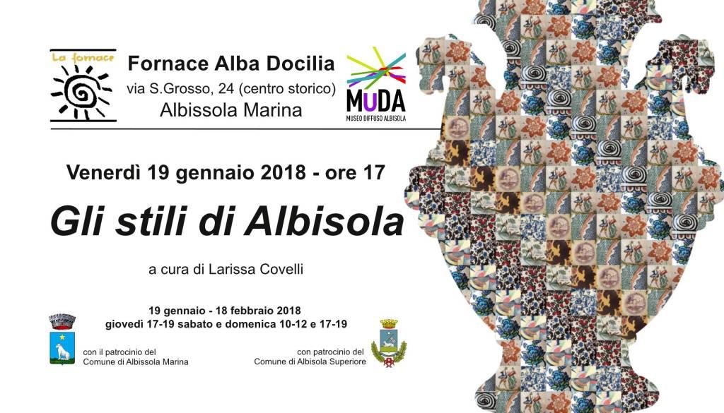 Gli stili di Albisola mostra Fornace Alba Docilia