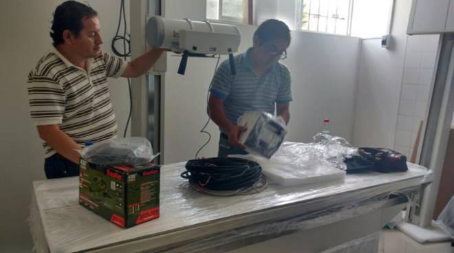 I Rotary di Alassio, Albenga e Savona finanziano e donano una sala di radiologia ad una clinica francescana in Perù