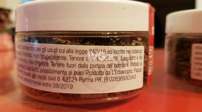 In vendita a Loano la marijuana legale