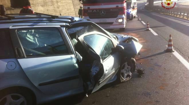 incidente autostrada6