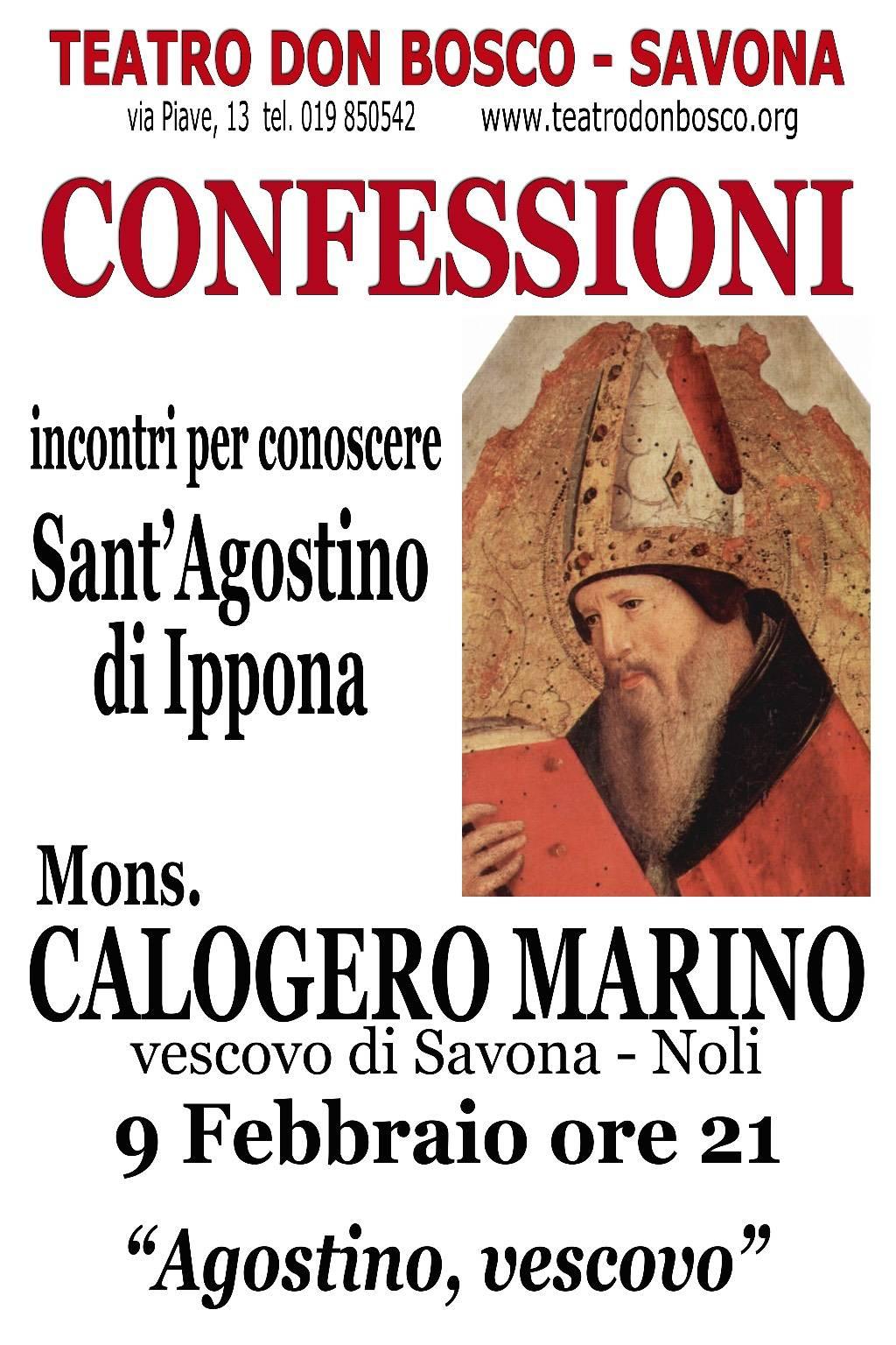 """Incontro """"Agostino, vescovo"""""""