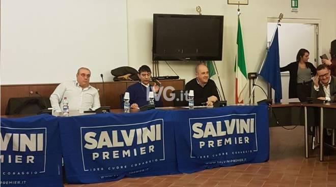 Incontro delle segreterie provinciali di Savona e Imperia della Lega Nord