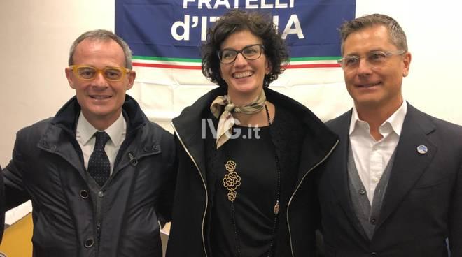 L'inaugurazione della sede di Fratelli d'Italia a Savona