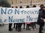 Manifestazione insegnanti 8 gennaio