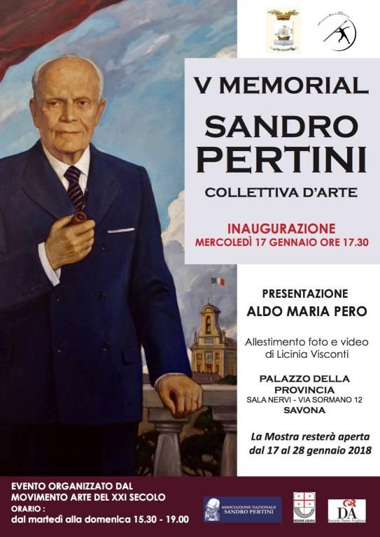 Memorial Sandro Pertini mostra d'arte