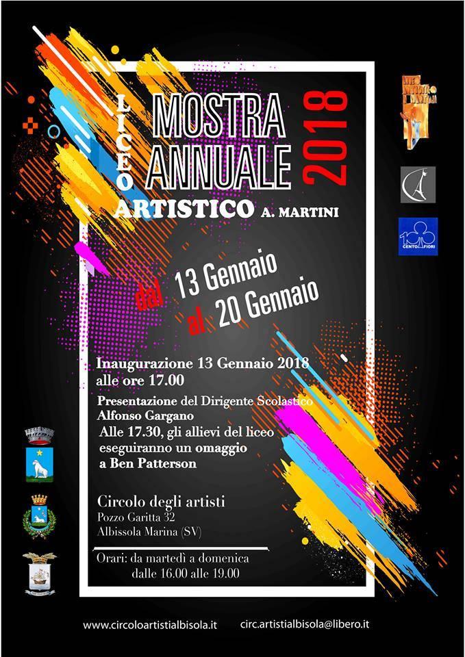 Mostra allievi Liceo Artistico Martini Savona