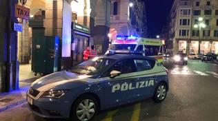 polizia piazza Mameli
