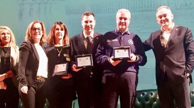 premiazione protezione civile liguria