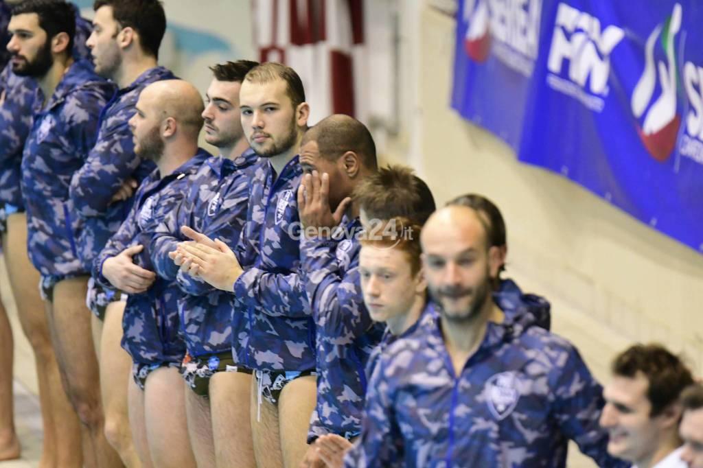 Pro Recco Vs Trieste Serie A1 Waterpolo