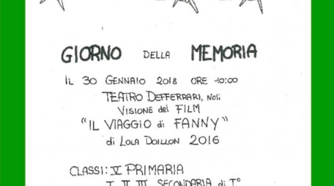 """Proiezione film """"Il viaggio di Fanny"""""""