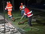 tecnici sca notte acquedotto villanova