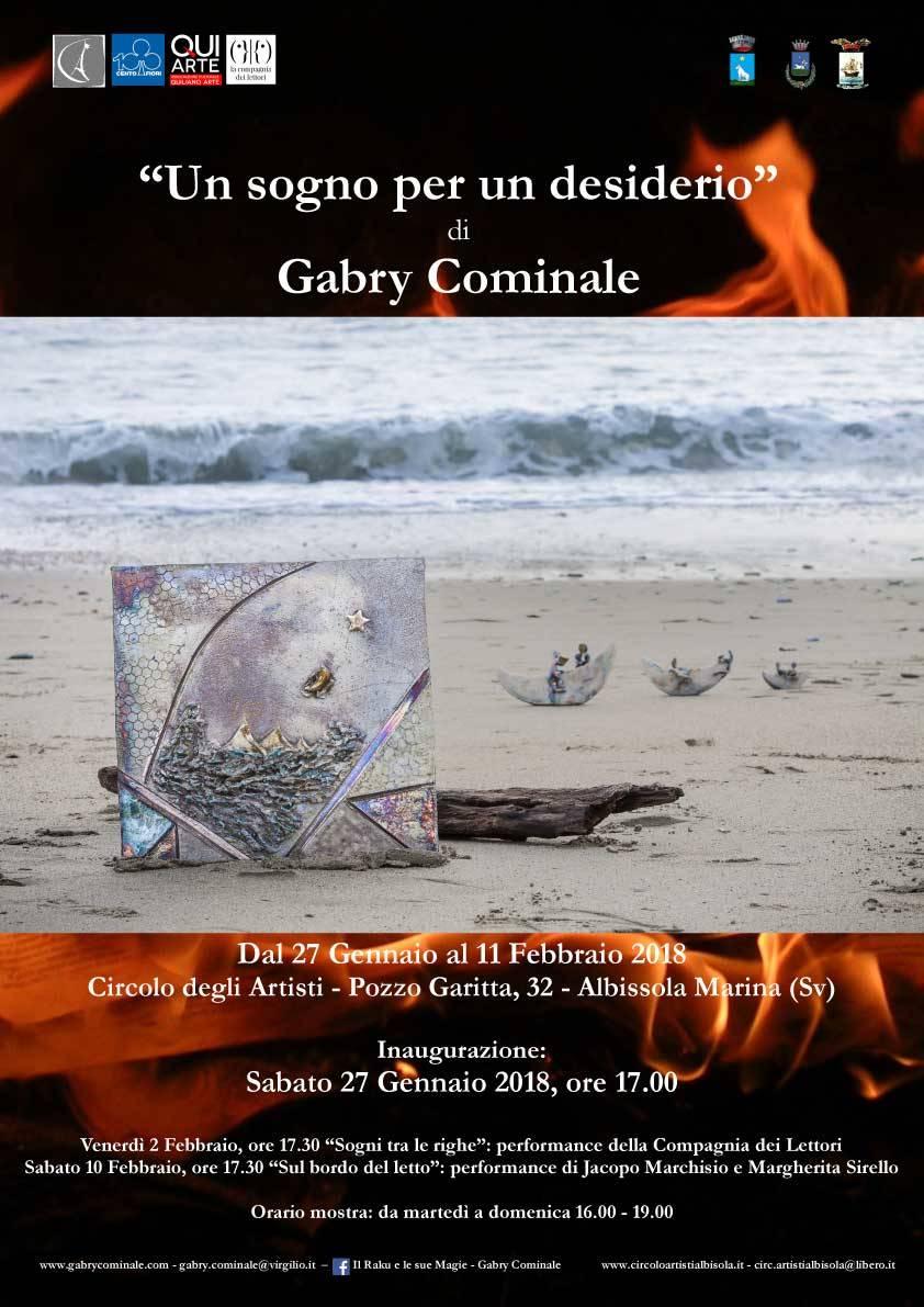 Un sogno per un desiderio mostra Gabry Cominale