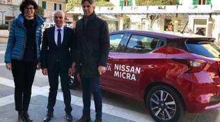 Una nuova auto in comodato d'uso gratuito al Comune e al sindaco di Savona