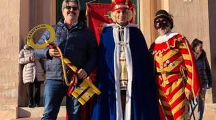 Carnevaloa 2018 Consegna Chiavi