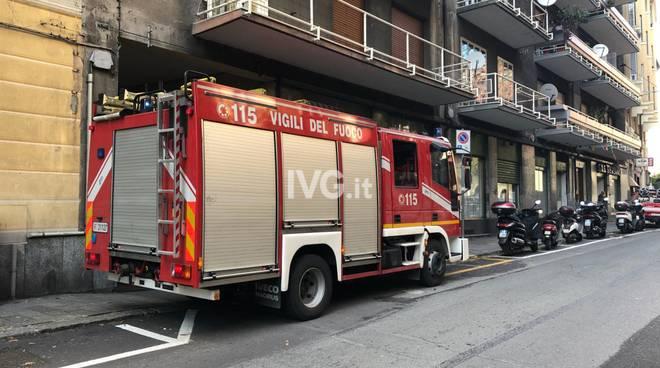 vigili del fuoco vvff via san lorenzo savona