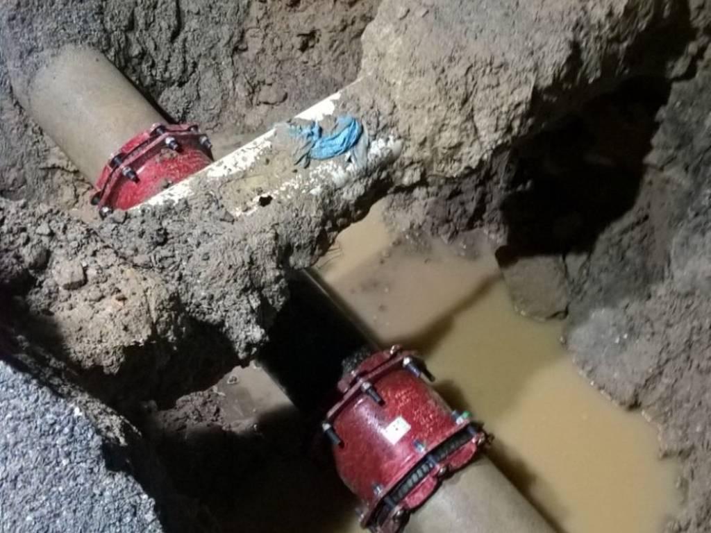 acquedotto sca tubazione perdita alassio