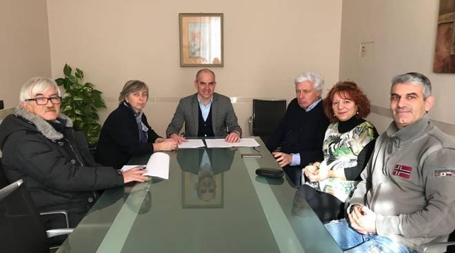 Albenga firma convenzione Adso Comune Dopo di Noi
