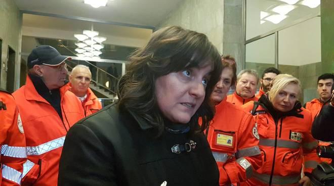 Ambulanze e militi pubbliche assistenze trattativa Alisa